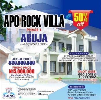 Apo Rock Villa Phase 1 Estate, Apo  Rock Villa Phase 1, Apo, Abuja, Residential Land for Sale