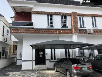 4 Bedroom Semi Detached Duplex Is Available for Letting, Saki Close, Osapa, Lekki, Lagos, Terraced Duplex for Rent
