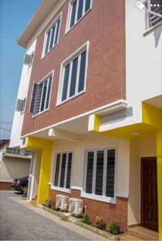 Executive Furnished (pay & Start Cooking) 4units of 4bedroom Terrace Duplex with Bq in an Estate, in an Estate at Adeniyi Jones, Adeniyi Jones, Ikeja, Lagos, Terraced Duplex for Sale