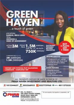 Green Haven, Ilamija, Mafogunde, Ibeju Lekki, Lagos, Residential Land for Sale