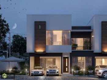 4 Bedroom Terrace Duplex with 1 Room Boys Quarter, Osapa, Lekki, Lagos, Terraced Duplex for Sale