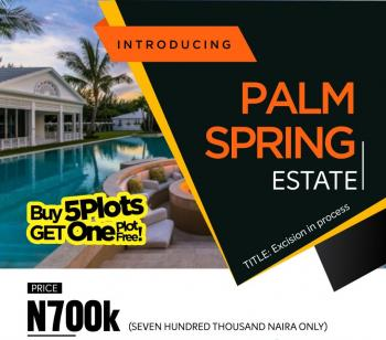 Palm Spring, Orimedu, Ibeju Lekki, Lagos, Residential Land for Sale