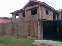 Uncompleted 4 Bedroom Duplex With Attached 2units Of 3 Bedroom Flat, New Bodija, Ibadan, Oyo, 10 Bedroom, 10 Toilets, 10 Baths House For Sale