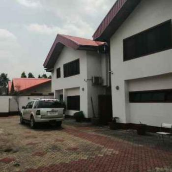 2 Wings 5 Bedroom Semi-furnished Commercial Duplex, Shonibare Estate, Maryland, Lagos, Semi-detached Duplex for Rent