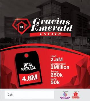 Plot of Land, Gracias Emerald...., Lekki Expressway, Lekki, Lagos, Residential Land for Sale