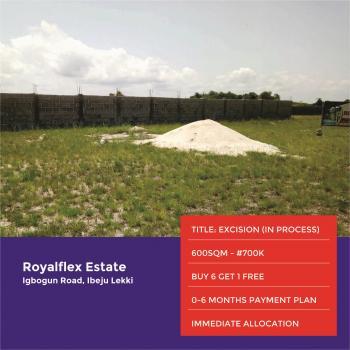 Land for Sale in Ibeju Lekki, Igbogun Road, After Lacampagne Tropicana, Ibeju Lekki, Lagos, Residential Land for Sale