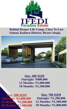 Residential Land, Ifedi Paradise Estate, Deeper Life Camp, Close to Law School, Kuduru, Bwari, Abuja, Residential Land for Sale