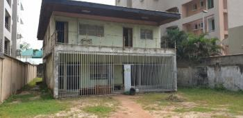 an Old Detached House on 1,000sqms, Bourdillon, Old Ikoyi, Ikoyi, Lagos, Detached Duplex for Sale