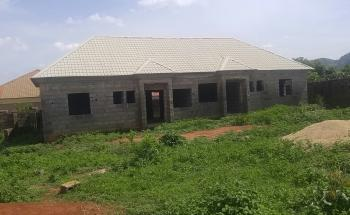 1,000sqm of Fully Fenced Land with a Block of 2units of 2 Bedroom Flats, Orozo, Karu, Nasarawa, Land for Sale