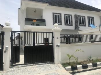 Lovely 4 Bedroom Duplex with Bq, Chevron, Lekki, Lagos, Detached Duplex for Rent
