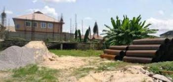 Fenced Round 2 Plots of Land. Pay and Start Work  Good Road, Good Environment, Ago Palace, Isolo, Lagos, Mixed-use Land for Sale