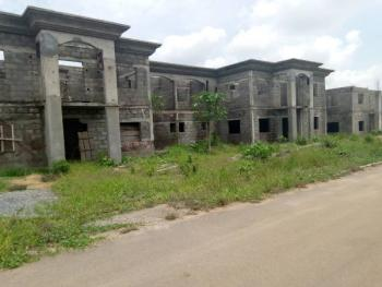 Large and Luxury 5 Bedroom Semi Detached Plus Bq Semi Finished, Behind Ebeano Supermarket, Lokogoma District, Abuja, Semi-detached Duplex for Sale