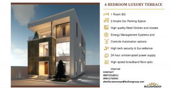 4 Bedroom Smart Terraced Luxury Duplex with 1 Bq, Maitama, Abuja, Lake Chad District, Maitama District, Abuja, Terraced Duplex for Sale