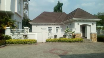 Luxury Finished Newly Built 7 Bedroom Detached Duplex with 1 Room Self Guest Chalet 2 Room Boys Quarters, Off Ibb Way, Maitama District, Abuja, Detached Duplex for Sale