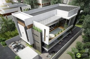 3d Pictures: Block Consisting of Four Units of 3 Bedrooms and One Unit of 3 Bedroom Penthouse (near Completion), Banana Island, Ikoyi, Lagos, Block of Flats for Sale