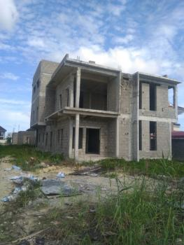 Waterfront Plot Measuring 1050sqm with 2 Uncompleted Buildings, Pinnock Beach Estate By Updc, Lekki Phase 1, Lekki, Lagos, Residential Land for Sale