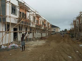 3 Bedroom Terrace Duplex House with Attached Bq, Bella Homes Phase 2, Within Chevron, Lekki Expressway, Lekki, Lagos, Terraced Duplex for Sale