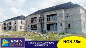 Luxury 3 Bedroom Flat, Title C of O Amen Estate, Eleko, Ibeju Lekki, Lagos, Self Contained (single Rooms) for Sale
