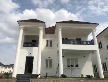 Brand New Luxury 5 Bedroom Duplex with 2 Room Boys Quarter, Asokoro District, Abuja, Detached Duplex for Rent