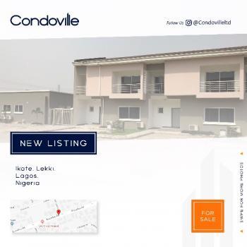 Brand New 3 Bedroom Terraced Duplex + 1 Room Bq, Ikate Elegushi, Lekki, Lagos, Semi-detached Duplex for Sale