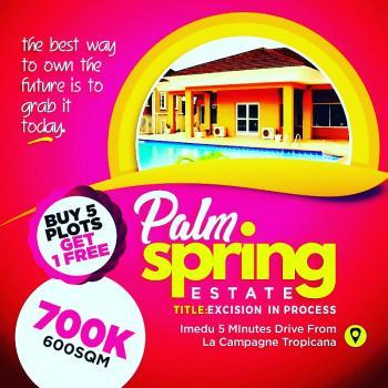 Genuine Land, Palm Springs Estate,, Ibeju Lekki, Lagos, Mixed-use Land for Sale