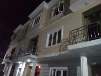 a Brand New 4 Bedroom Terrace Service Apartment, Osapa, Lekki, Lagos, Terraced Duplex for Rent