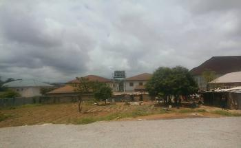 Half -fenced Residential Plot Measuring 1400sqm with C of O on a Tarred Road, By Navy Quarters, Jahi, Abuja, Residential Land for Sale
