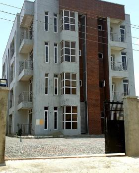 a New Block of Deluxe 2-bedroom Ensuite Apartments with Terrace • Smart Fitted Built-in  Kitchen • Large Living Area 33sqm, New Road, Bus-stop, Chevy View Estate, Lekki, Lagos, Flat for Sale