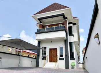 Newly Built Luxury 4 Bedroom Fully Detached Duplex with 1 Bq, Thomas Estate, Ajah, Lagos, Detached Duplex for Sale
