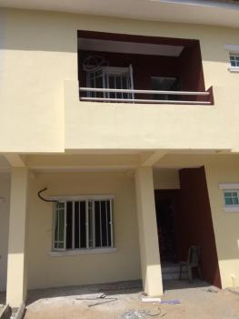 3 Bedroom Duplex with a Room Bq, Meridian Park Estate Before Mayfair Garden, Directly on Lekki-epe Expressway, Lekki Gardens Estate, Ajah, Lagos, Awoyaya, Ibeju Lekki, Lagos, Terraced Duplex for Rent