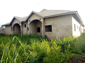 Modern Uncompleted  4 Flats in  a Strategic Location, Kuola Street Off Akala Express, Apata, Ibadan, Oyo, Detached Bungalow for Sale