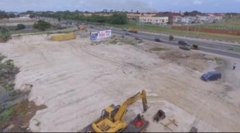 Land, Dpkay Commercial Land Is Along The Lekki Epe Expressway Adjacent of Shoprite Sangotedo, Sangotedo, Ajah, Lagos, Commercial Land for Sale