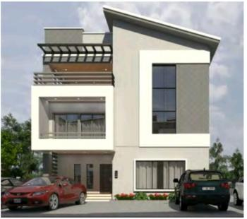 Fully Finished 5 Bedroom Villa (with Basement) + Maid Room, Jabi Upstairs, Behind Mallam Shehu Plaza, Jabi, Abuja, Detached Duplex for Sale