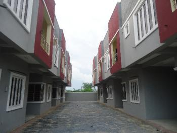 Luxury 4 Bedroom Terrace Duplex with Excellent Facilities, Lafiaji, Lekki, Lagos, Terraced Duplex for Sale