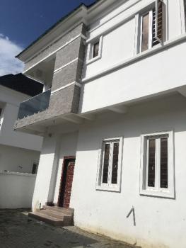 Newly Built White 5 Bedroom  Detached Duplex +1 Room Bq, Chevron Estate Area, Lekki, Lagos, Detached Duplex for Sale