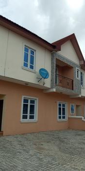 Lovely 3 Bedroom Terrace Duplex with Bq, Happy Land Estate, Sangotedo, Ajah, Lagos, Terraced Duplex for Rent