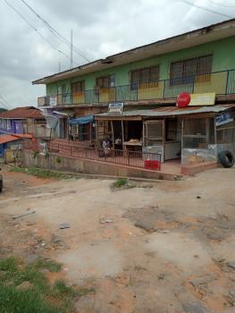 4 Bedroom Up & 3 Bedroom Flat Downstairs with 7 Shops, Jolayemi Street,cocacola, Mokola, Eleyele, Ibadan, Oyo, Plaza / Complex / Mall for Sale