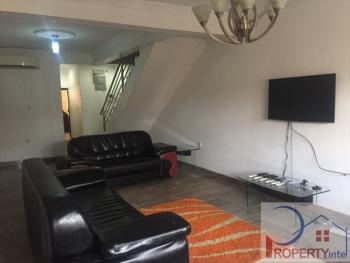 a Fully Furnished and Serviced 5 Bedroom Semi Detached Duplex, Ikogosi Street, Osborne, Ikoyi, Lagos, Semi-detached Duplex for Rent