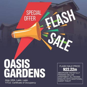 Oasis Gardens Abijo, 5 Minutes Drive From Novare Mall Shoprite Sangotedo Ajah, Abijo, Lekki, Lagos, Block of Flats for Sale