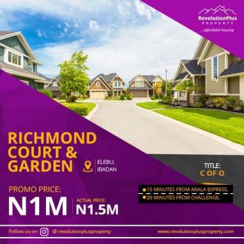 Land, Oke-mekun Town, Elebu Off Akala, Alakia, Ibadan, Oyo, Residential Land for Sale