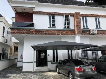 Newly Built 4 Bedroom Duplex with 1 Bq, Osapa, Lekki, Lagos, Semi-detached Duplex for Rent