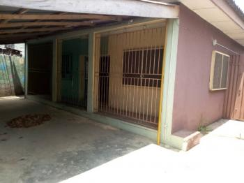 5 Bedroom Flats Bungalow with 2 Units Self-contained Sitting on 550sqm Land., Ogba, Ikeja, Lagos, Block of Flats for Sale
