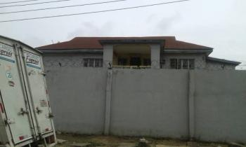 3 Plots Together, Has a Detached House and Bq, Security House, Jibowu, Yaba, Lagos, Detached Duplex for Sale