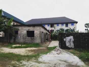 2plots of Land with 2 Nos 2 Bedroom Uncompleted Apartment, Opposite Agip Corporative Estate By Power Encounter Off East West, Rumuodara, Port Harcourt, Rivers, Mixed-use Land for Sale