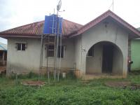 A Bungalow Building Of 3 Apartments, Ado-odo/ota, Ogun, Detached Bungalow For Sale