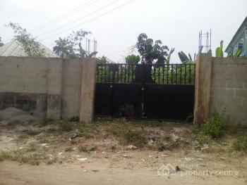 Well Located and Fenced Dry Land, Ikot Oku Okono, Uyo, Akwa Ibom, Residential Land for Sale