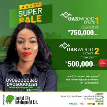 Plots of Land, Airport Road, Obio-akpor, Rivers, Mixed-use Land for Sale
