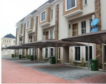 Fully Serviced Luxury 4 Bedroom Terrace Duplex with a Room Bq, Swimming Pool, Ikate Elegushi, Lekki, Lagos, Terraced Duplex for Rent
