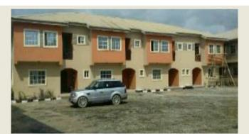 3 Unit of 3 Bedroom All Room En Suit Terrace Duplex, Opposite Redeem Camp, Mowe Ofada, Ogun, Terraced Duplex for Sale