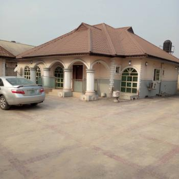 Private 4 Bedroom Detached Bungalow with Separate Boys Quarter, Otokutu Town, Ughelli South, Delta, Detached Bungalow for Sale